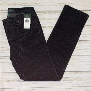 New!Lauren Jeans Co. Corduroy Straight Jeans Sz 4